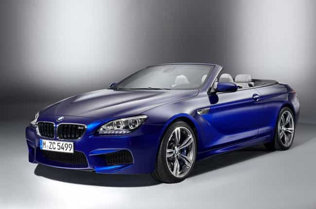 BMW M6 Convertible is listed (or ranked) 6 on the list List of Popular BMW Convertibles