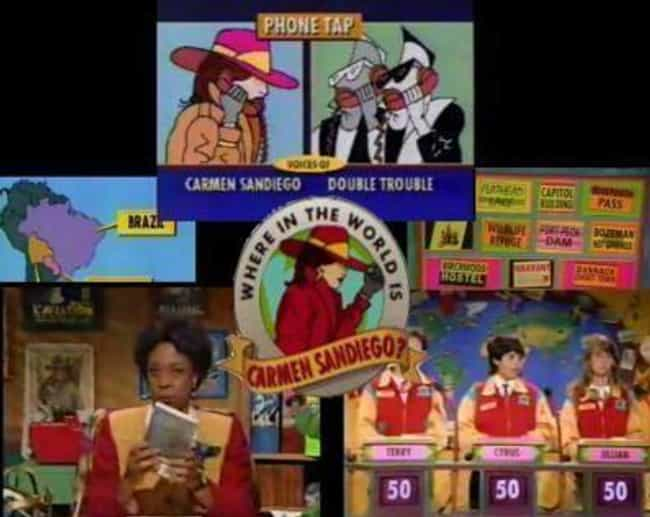PBS Produced A 'Carmen San... is listed (or ranked) 3 on the list Carmen Sandiego Is A Way Bigger Deal Than You Ever Realized