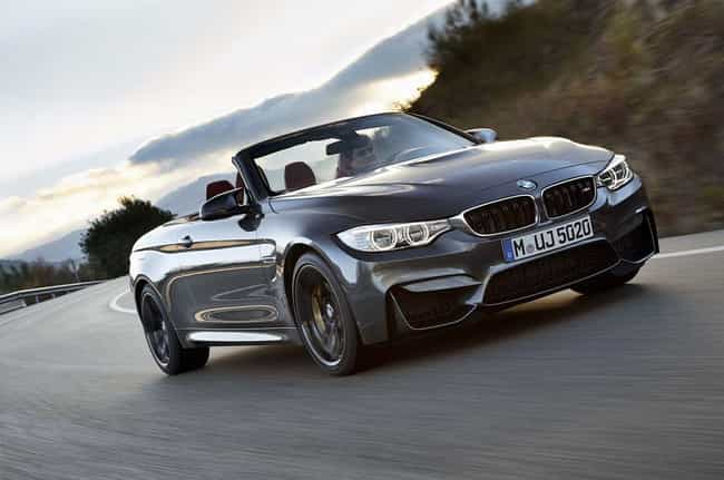 BMW M4 Convertible is listed (or ranked) 1 on the list List of Popular BMW Convertibles