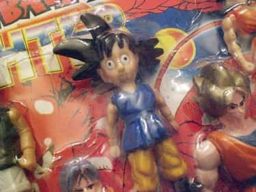 When You're About To Have  is listed (or ranked) 2 on the list Laughably Bad Bootleg Dragon Ball Z Merch