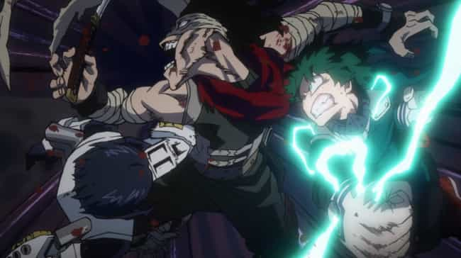 Vs. Hero Killer Arc is listed (or ranked) 4 on the list The Best My Hero Academia Arcs So Far