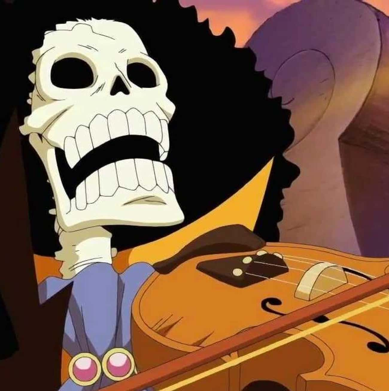 Respect for Life is listed (or ranked) 2 on the list The Best Brook Quotes from One Piece
