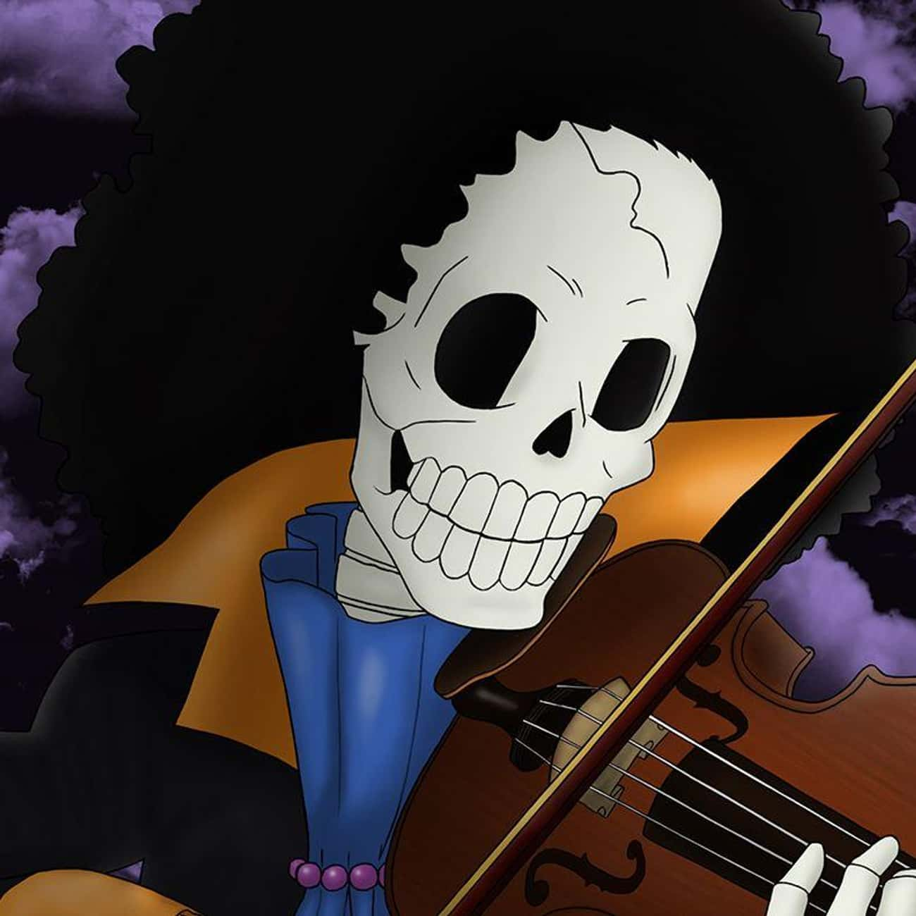 No Matter How Deep the Night is listed (or ranked) 4 on the list The Best Brook Quotes from One Piece