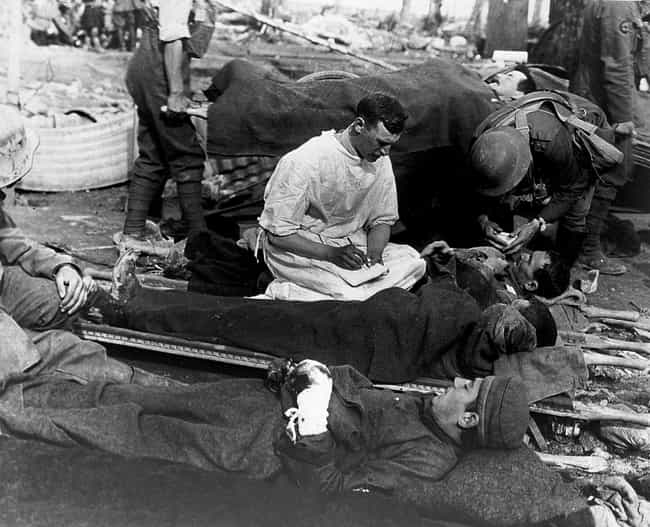 Illness Was Everywhere is listed (or ranked) 1 on the list What It Was Really Like For Soldiers In The Trenches Of WWI