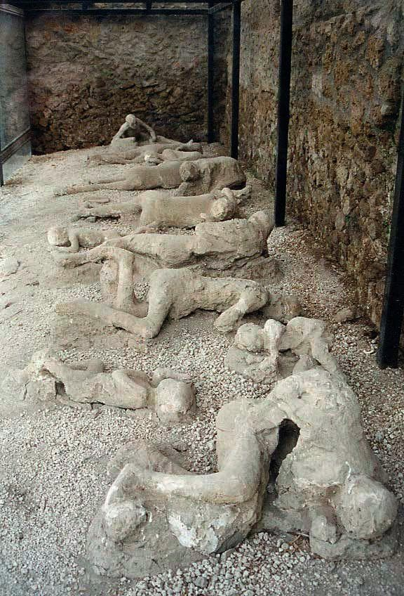 Random Things About What It Was Like To Die At Pompeii