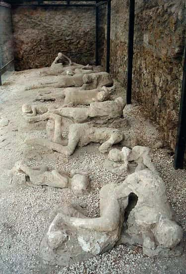 Extreme Heat From A Toxic Wave is listed (or ranked) 1 on the list What It Was Like To Die At Pompeii
