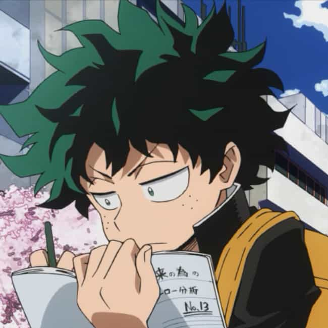 Don't Worry About What O... is listed (or ranked) 3 on the list The Best Izuku Midoriya Quotes