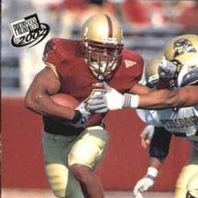 Chuckie Dukes is listed (or ranked) 12 on the list The Best Boston College Eagles Running Backs of All Time