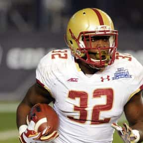 Jon Hilliman is listed (or ranked) 13 on the list The Best Boston College Eagles Running Backs of All Time