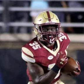 Travis Levy is listed (or ranked) 22 on the list The Best Boston College Eagles Running Backs of All Time