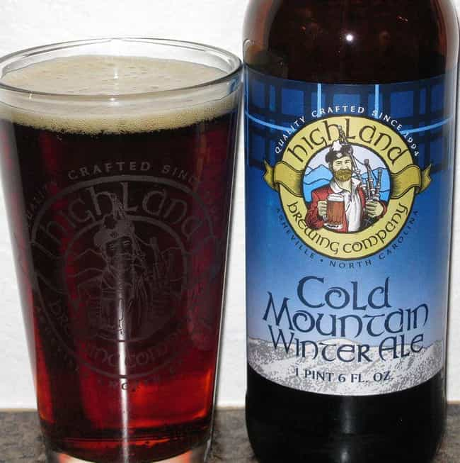 Cold Mountain Winter Ale is listed (or ranked) 1 on the list The Best Asheville Beers, Ranked