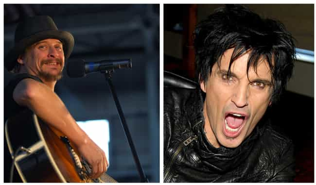 Kid Rock Vs. Tommy Lee ... is listed (or ranked) 3 on the list Inside The Biggest And Nastiest Rap Vs. Rock Beefs Ever