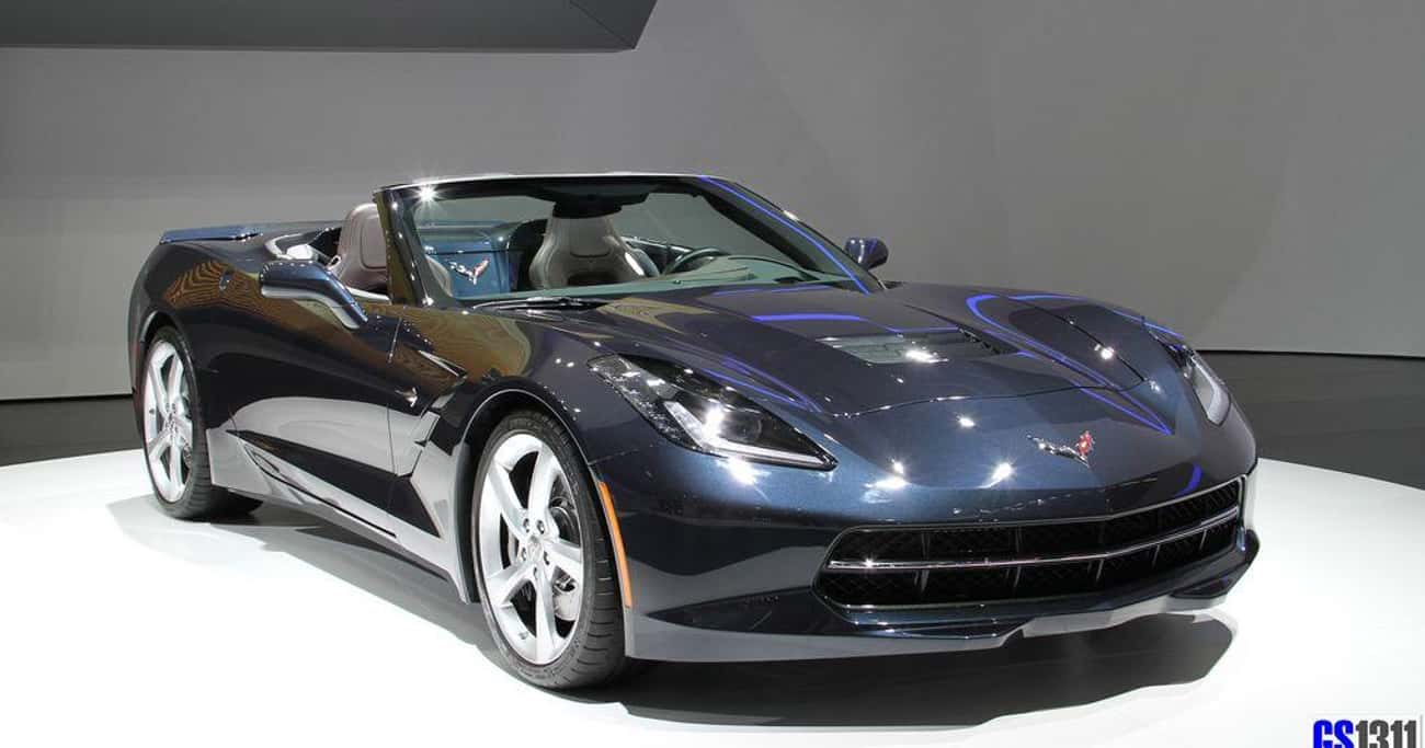 Chevrolet Corvette Stingray Co is listed (or ranked) 1 on the list List of Popular Chevrolet Convertibles