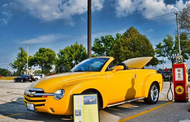 Chevrolet SSR Convertible is listed (or ranked) 3 on the list List of Popular Chevrolet Convertibles