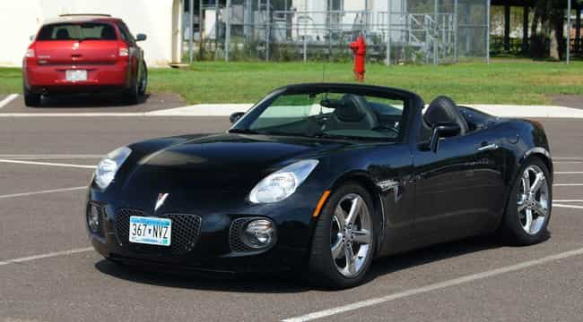 Pontiac Solstice GXP Con... is listed (or ranked) 4 on the list List of Popular Pontiac Convertibles