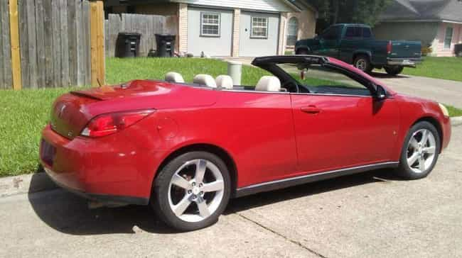 Pontiac G6 GT Convertibl... is listed (or ranked) 3 on the list List of Popular Pontiac Convertibles