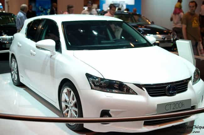 Lexus CT200h is listed (or ranked) 3 on the list List of Popular Lexus Station Wagons
