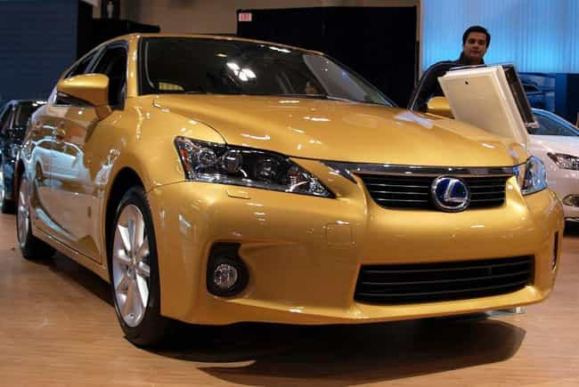 Lexus CT200h F Sport is listed (or ranked) 4 on the list List of Popular Lexus Station Wagons