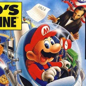 Mario's Time Machine is listed (or ranked) 2 on the list The Worst Mario Games of All Time