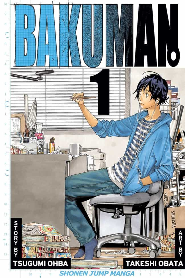 Bakuman is listed (or ranked) 4 on the list The 15 Best Starter Manga To Check Out If You Only Watch Anime