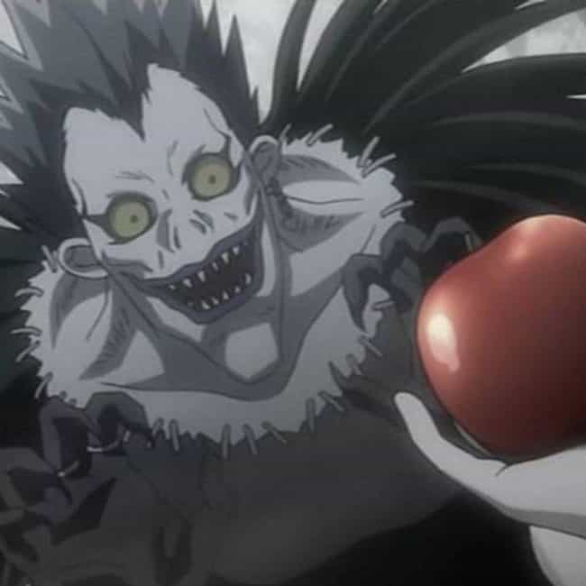 Apples Are like Cigarettes and... is listed (or ranked) 4 on the list The Best Ryuk Quotes From Death Note