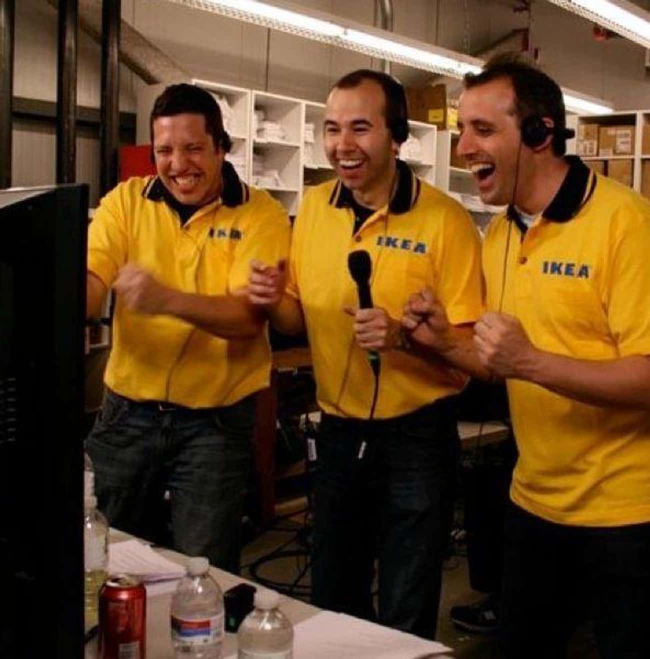 They Once Caught Someone Havin is listed (or ranked) 4 on the list Behind-The-Scenes Secrets From 'Impractical Jokers'