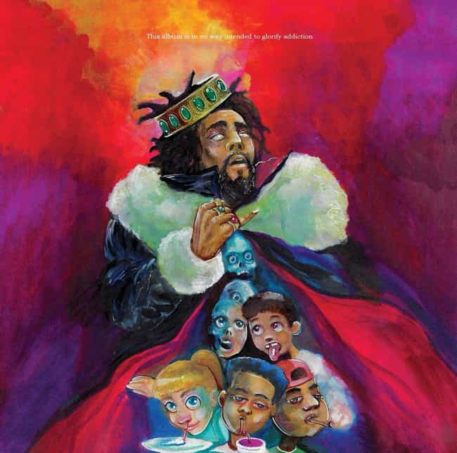 KOD is listed (or ranked) 4 on the list The Best J. Cole Albums, Ranked