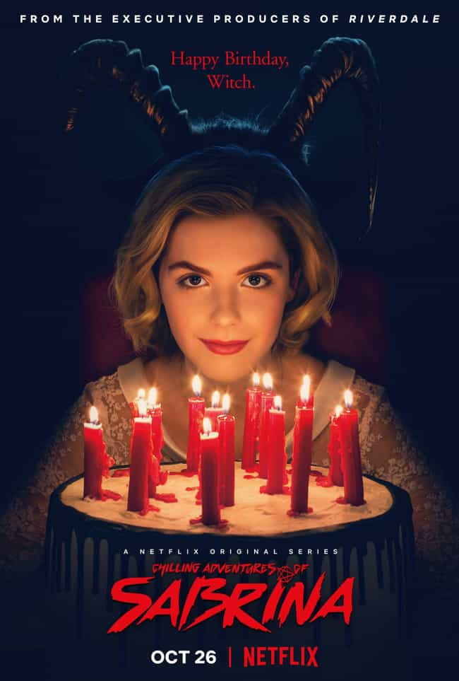 The First Trailer Came Out In ... is listed (or ranked) 4 on the list What Audiences Can Expect From 'Chilling Adventures Of Sabrina'
