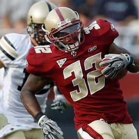 Andre Callender is listed (or ranked) 8 on the list The Best Boston College Eagles Running Backs of All Time