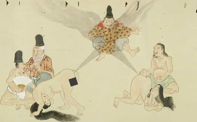 Female Warriors Also Participa... is listed (or ranked) 4 on the list Classical Japan's Epic Fart Battles Will Blow You Away