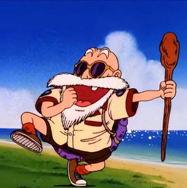 Like a Turtle and Part F... is listed (or ranked) 3 on the list The Best Master Roshi Quotes