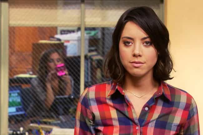 She Was Named After A '7... is listed (or ranked) 3 on the list 14 Facts That Prove Aubrey Plaza Might Be April Ludgate IRL