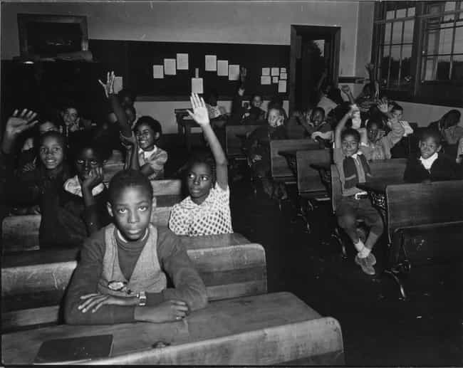 White Communities In The South... is listed (or ranked) 2 on the list What Happened Immediately After Schools Were Desegregated In The US