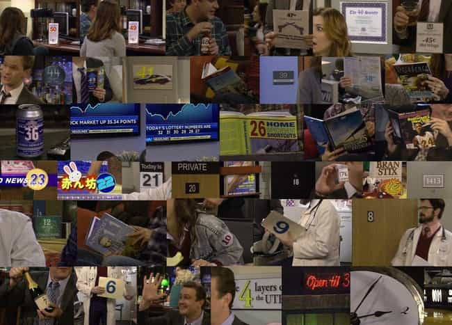 The Saddest Countdown In... is listed (or ranked) 4 on the list Genius Foreshadowing In 'How I Met Your Mother' That You Totally Missed