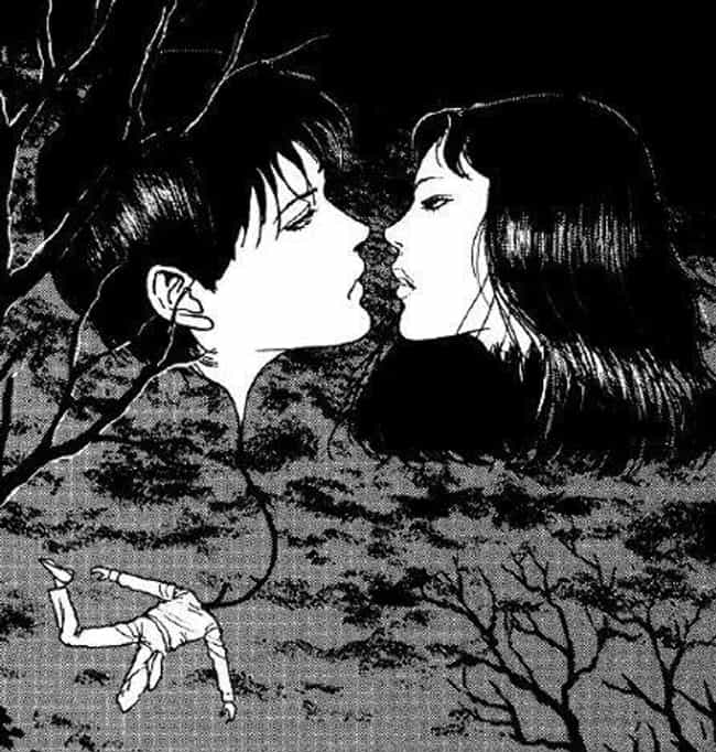 """""""The Hanging Balloons""""... is listed (or ranked) 4 on the list The Work of Junji Ito Is The Most Horrifying Nightmare Fuel Coming Out Of Japan"""