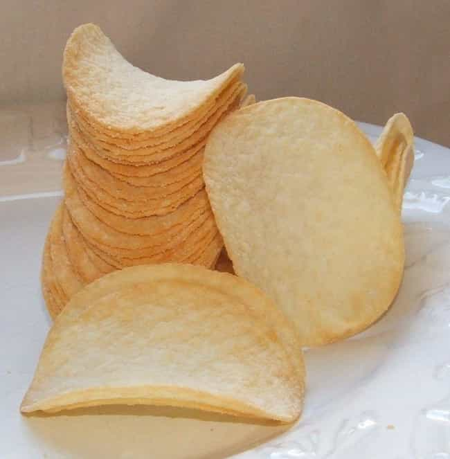 Pringles is listed (or ranked) 1 on the list Foods You Don't Want To See Made