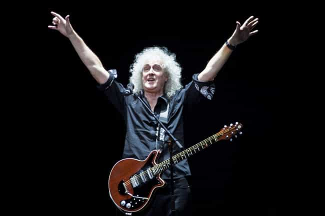 Queen Boasts Numerous Di... is listed (or ranked) 4 on the list Inside The Fascinating Life Of Queen Guitarist Brian May