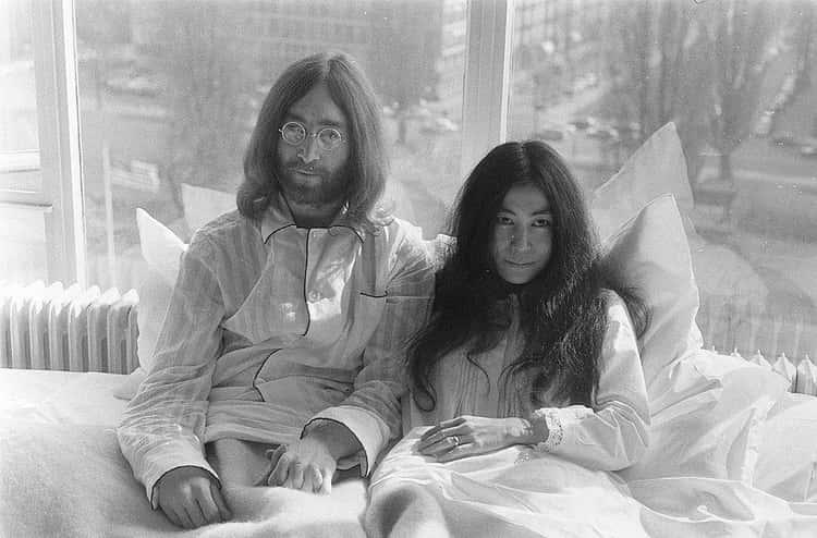 John Lennon Brought A Bed Into The Studio For Yoko Ono