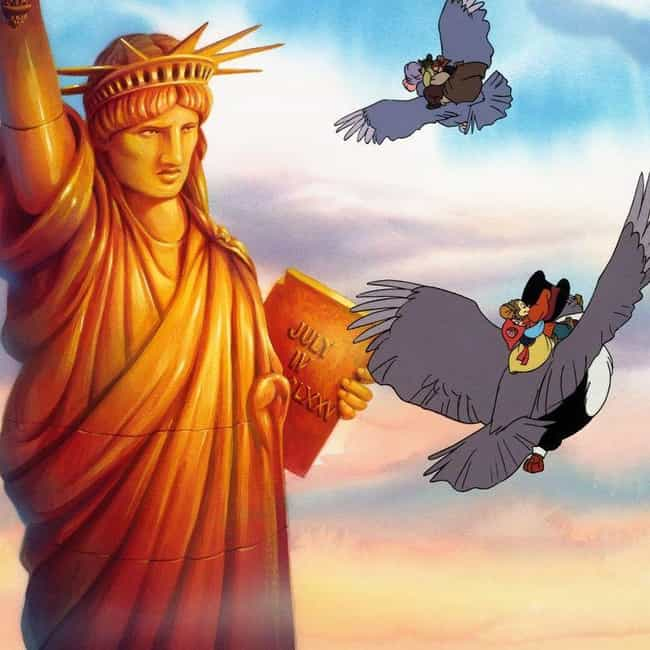 It Doesn't Make America's Immi... is listed (or ranked) 2 on the list 'An American Tail' Probably Messed Up Your Childhood