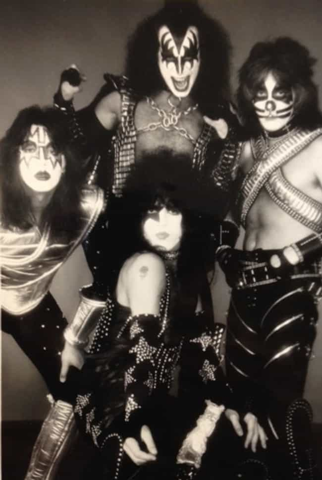His Nickname Came From His Suc... is listed (or ranked) 3 on the list Wild Stories About The Debauched Life Of KISS Guitarist Ace Frehley