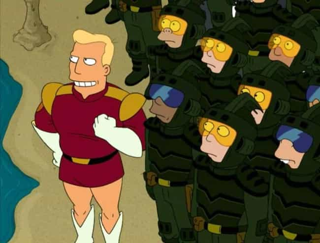 Beat Up By A Women is listed (or ranked) 4 on the list The Greatest Zapp Brannigan Quotes From Futurama