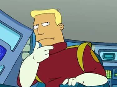 Spongy And Bruised is listed (or ranked) 2 on the list The Greatest Zapp Brannigan Quotes From Futurama
