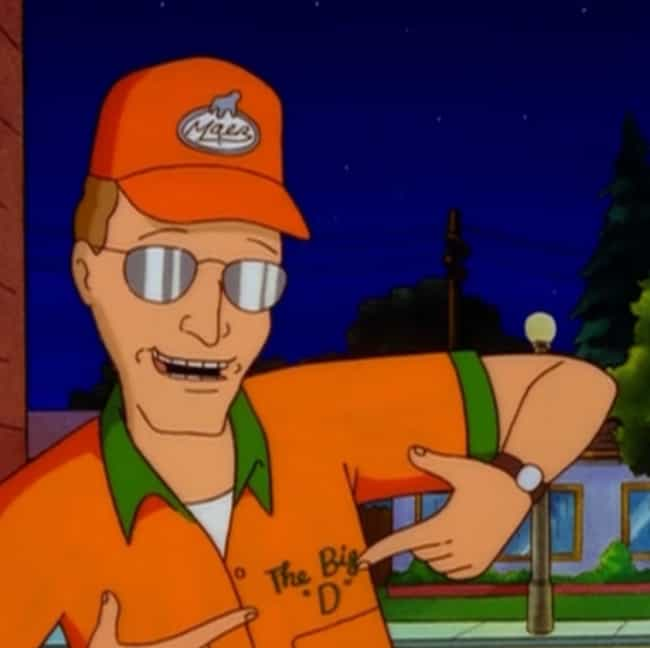 From Up Here is listed (or ranked) 1 on the list The Greatest Dale Gribble Quotes From 'King of the Hill'