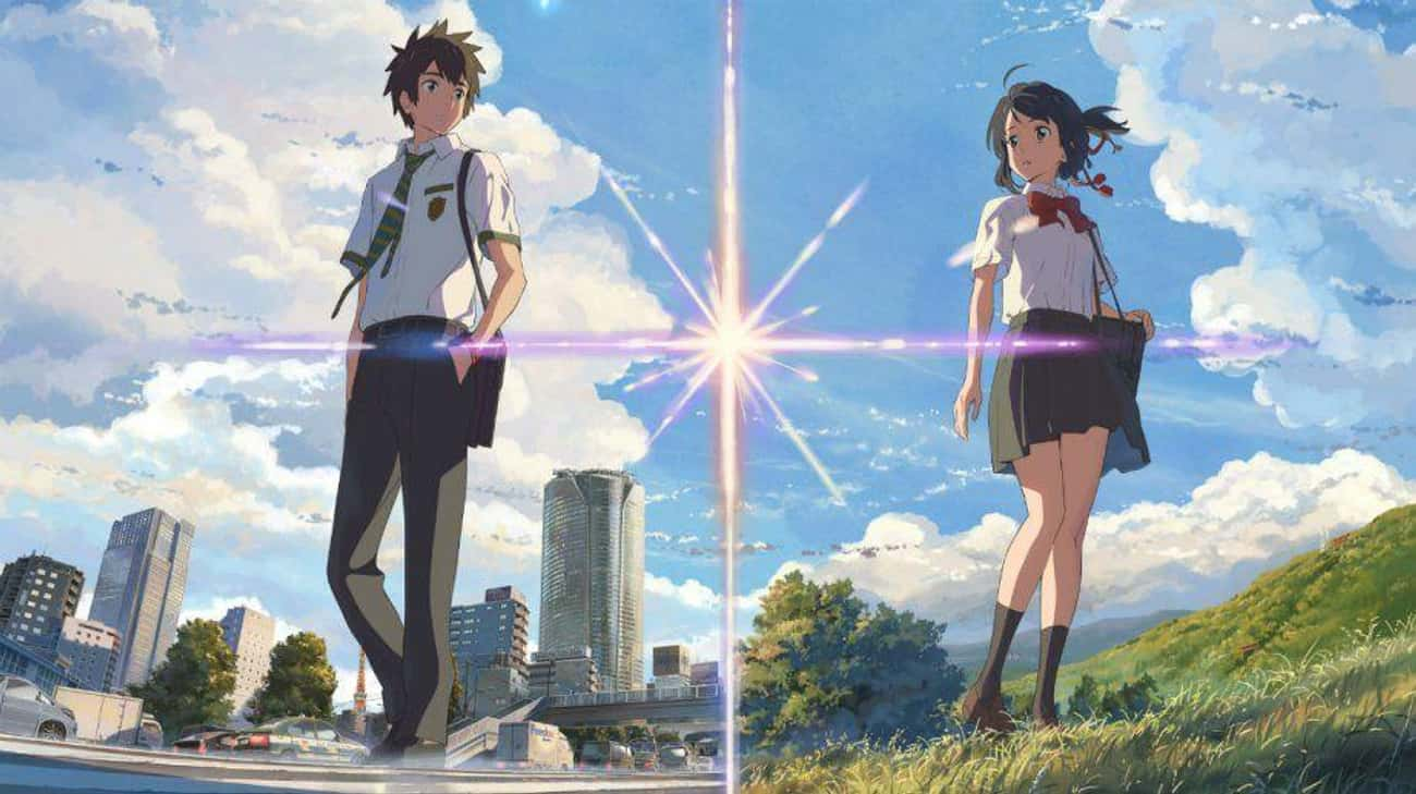Your Name is listed (or ranked) 2 on the list The Best Anime Like Steins;Gate