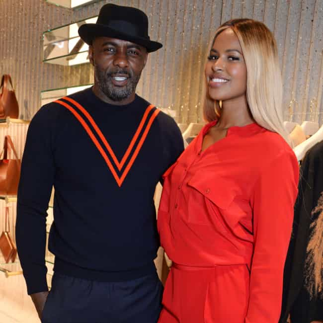 Sabrina Dhowre is listed (or ranked) 1 on the list Idris Elba Loves and Hookups
