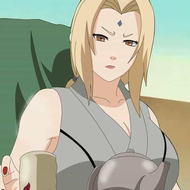 Before I Let You Touch H... is listed (or ranked) 4 on the list The Best Lady Tsunade Quotes