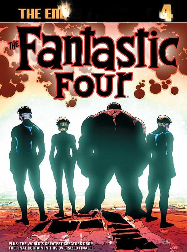 In A Shocking Move, Marvel Out... is listed (or ranked) 2 on the list How Marvel Comics Got Rid Of And Brought Back The Fantastic Four