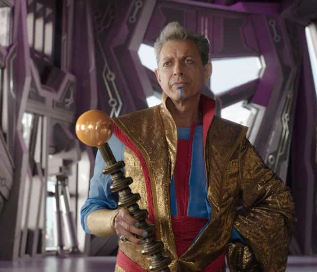 The Grandmaster Is As Ol... is listed (or ranked) 4 on the list 16 Members Of The MCU Whose Ages You Were Totally Wrong About