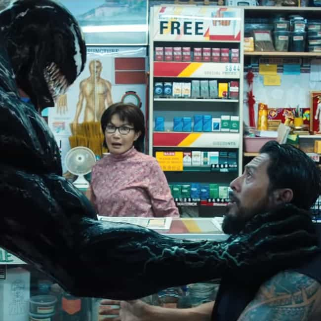 Armless, Legless, Faceless is listed (or ranked) 2 on the list The Best Venom Movie Quotes