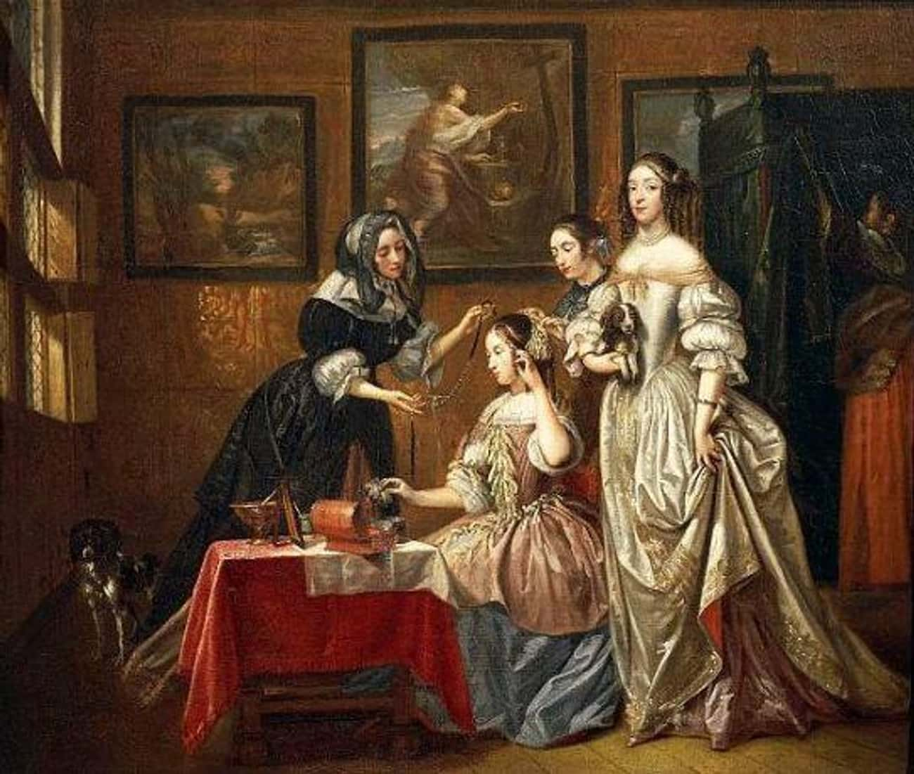 Courtesans Were Fashion Trends is listed (or ranked) 2 on the list What It Was Like To Be A High-End Sex Worker In The Renaissance